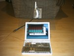 Ibook + pigtail Lucent + antenne SD19